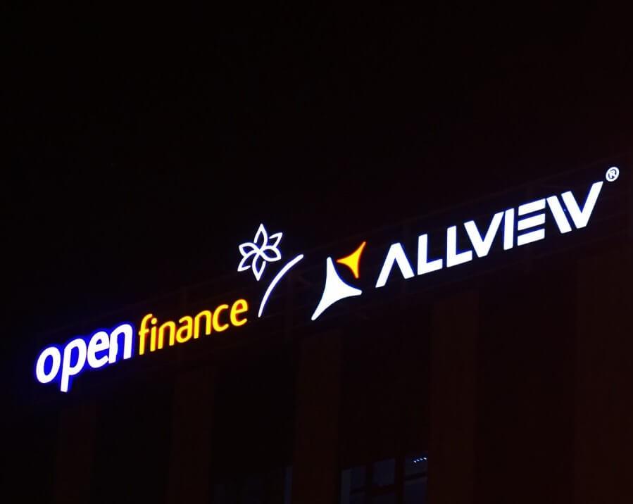 Podświetlane logotypy