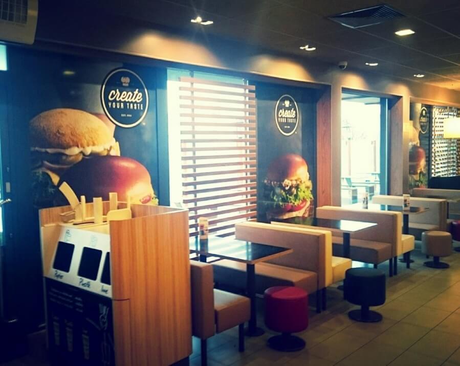 Rebrending Macdonalds