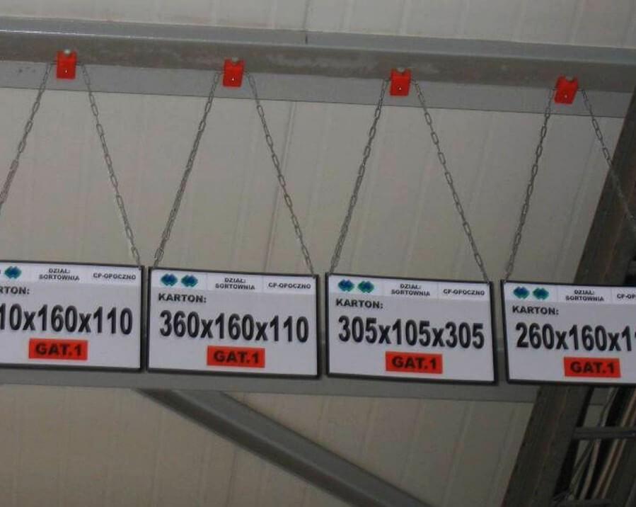 Oznakowanie hal