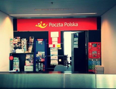 Oznakowanie  Poczty Polskiej.